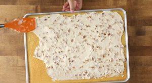 Белые техасские пирожные