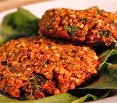 Вегетарианские бургеры из гречки