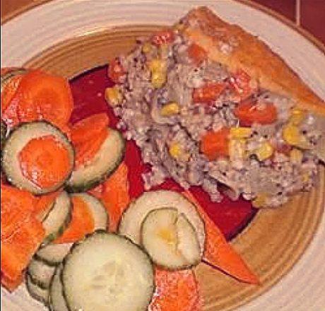Вегетарианский пастуший пирог с гречкой