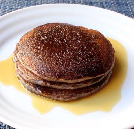 Гречневые панкейки на завтрак