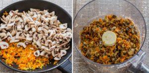 Крокеты из гречки с грибами
