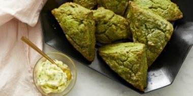 Матча-травяные булочки