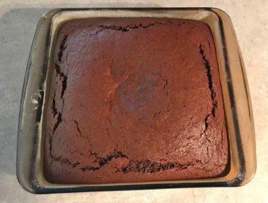 Необычный гречневый пряничный пирог