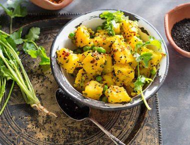 Острый картофельный салат