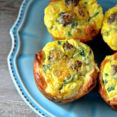 Порционные пироги на завтрак