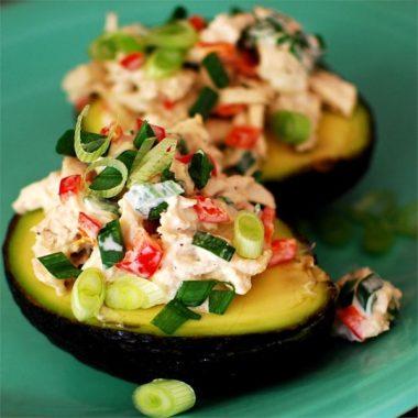 Тапас Авокадо с тунцом