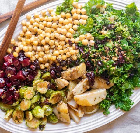Эпический зимний салат