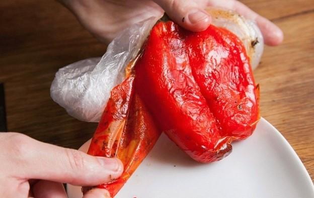 чистить перец
