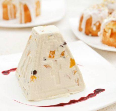 Пасхальный творожный десерт