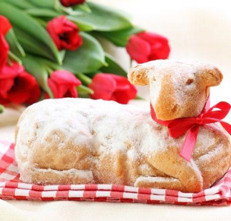 Пасхальный ягненок – рецепт классического торта