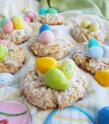 Печенье Пасхальное гнездо