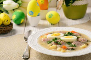 Польский пасхальный суп журек