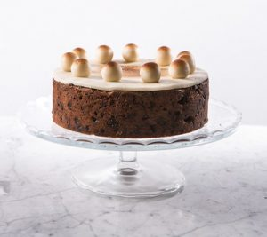 Марципановый торт Симнел