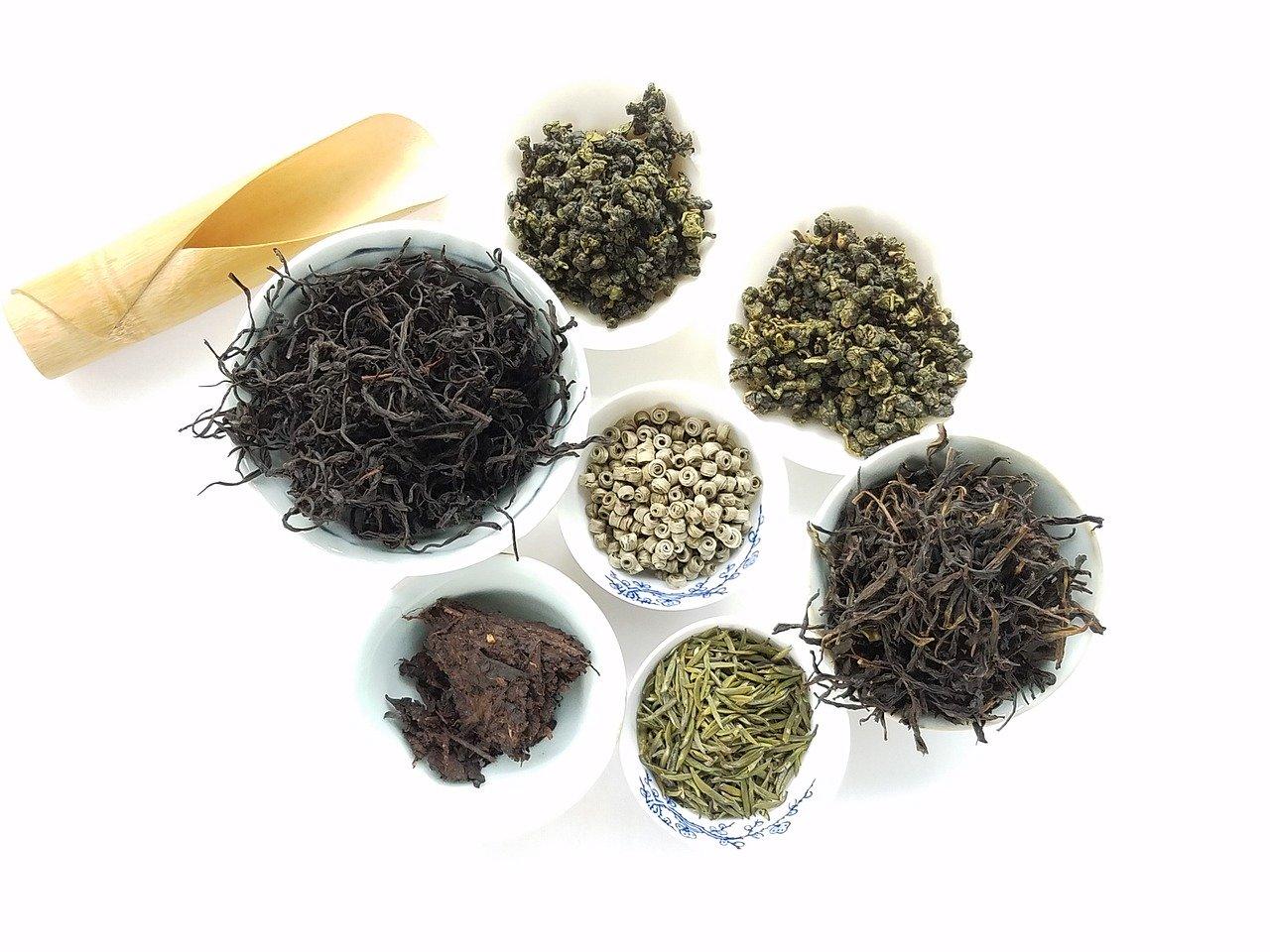 смеси черных чаев