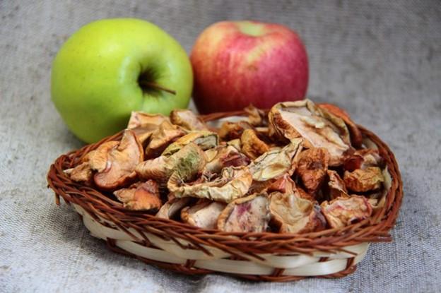 сухофрукты яблоки