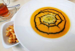 Мускатный Тыквенный суп на Хэллоуин