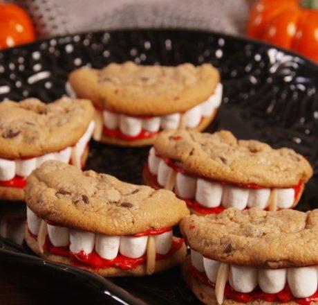 Печенье Улыбка Дракулы