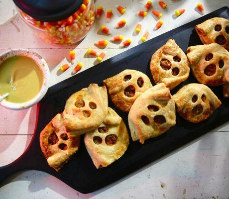 Пироги с привидениями на Хэллоуин